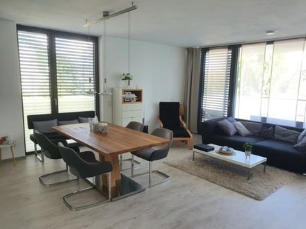 4 ZKB ca. 100 m² 01.10.20 lichtdurchflutete, moderne Wohnung in ND-Herrenwörth,...