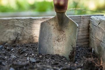 Gartenarbeit im April