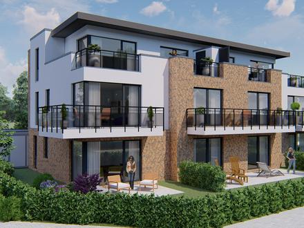 Neubau-Erdgeschoss-Wohnung mit vielen Extras!