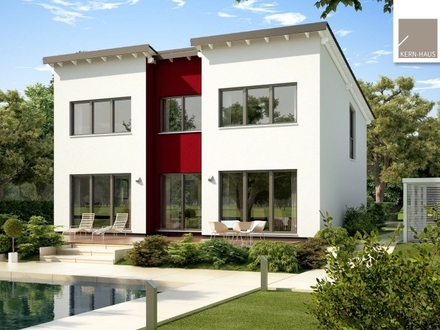 Moderne Architektur trifft auf eine innovative Wohnwelt! (KfW-Effizienzhaus 55)
