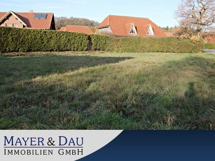 Beverstedt: Voll erschl. Grundstück 971m2 f. EFH od. DH, schöne, grüne und ruhige Lage, Obj. 4539