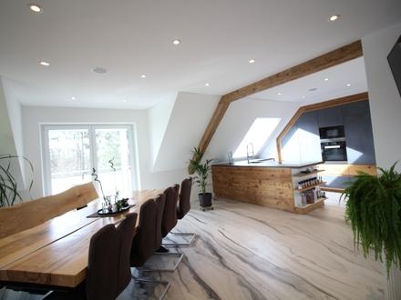 NEUBAU IN PROCESS - pfiffige Maisonettewohnung - toller Grundriss - super Gesamtkonzept - KfW55***