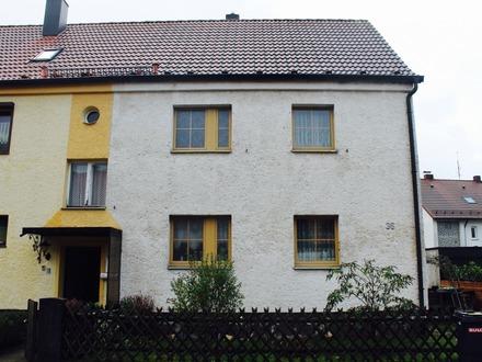 Reiheneckhaus in Winkelhaid mit 2 Wohneinheiten und Ausbaureserve im Dachgeschoss