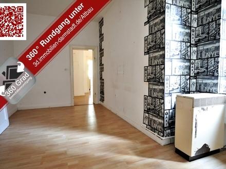 Renovierungsbedürftige 4 Zimmer Eigentumswohnung im beliebten Martinsviertel in Darmstadt