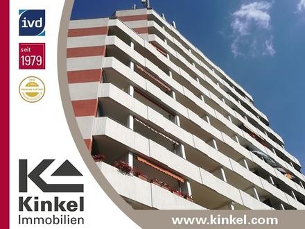 Gute Kapitalanlage: Vermietetes 1-Zimmer-Appartement mit überdachtem West-Balkon