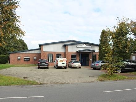 Hier fehlen nur noch Sie: Gewerbehalle mit Büroraum in Haren - ausgezeichnete Verkehrsanbindung -