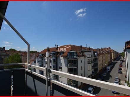 Schön Wohnen - mitten in Sankt Johannis. Tolle 3-Zimmer-Wohnung mit Balkon!