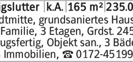 Haus in Helmstedt (38154) 165m²