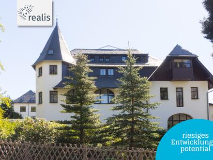Servicewohnen im ehemaligen Hotel in Augustusburg+++Bauplatz und riesiges Entwicklungspotential