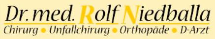 Dr. Med. Rolf Niedballa