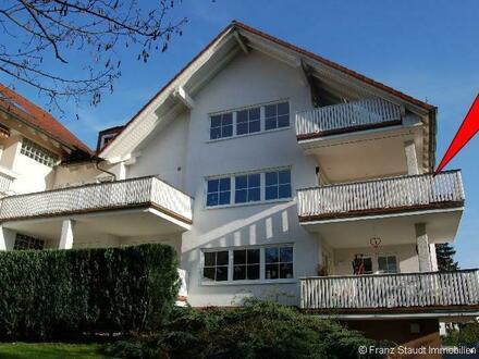 3 Zimmer-Traumwohnung mit großem Balkon in bester Wohnlage von Aschaffenburg