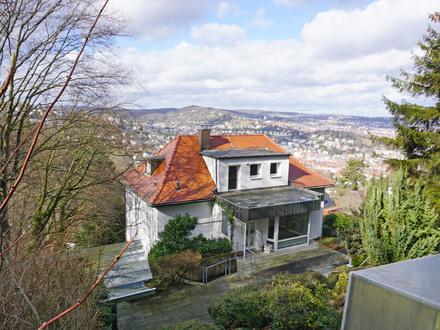 BIETERVERFAHREN: Wohnhaus in Aussichtslage