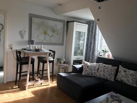 schöne Wohnung mit großer Loggia