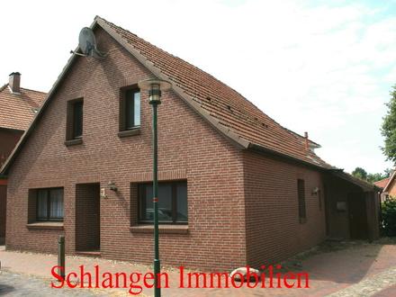 Objekt Nr.: 18/719 Einfamilienhaus mit Geräteraum u. Stellplatz im Seemannsort Barßel