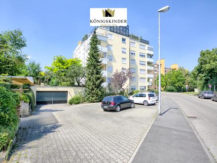 Helle und großzügige 4,5-Zimmer-Wohnung mit Balkon in tollem Zustand im begehrten Plattenhardt