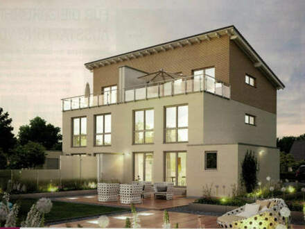 Moderne Doppelhaushälfte View