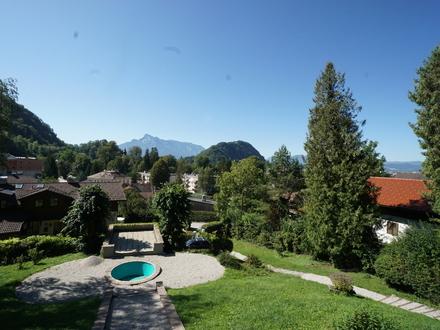 Äußerst geräumiges Stadthaus in begehrter Aussichtslage auf die Stadt Salzburg!