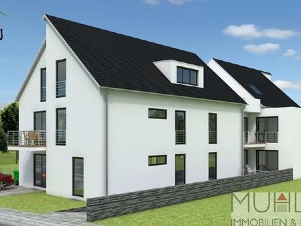 EDEN LIVING: Herrliche Dachgeschosswohnung mit 2 Terrassen zum Erstbezug