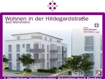 Neubau/Erstbezug-2-Zimmer-Penthouse-Wohnung in Bad Wörishofen mit Dachterrasse (Whg. 21/Haus B)