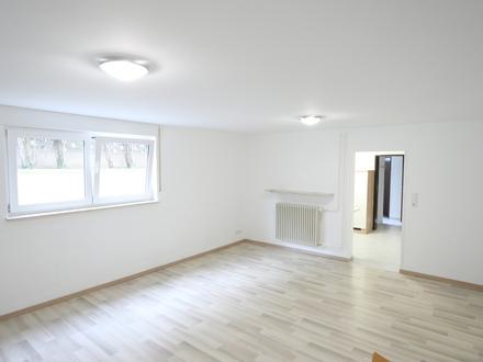 Helle Souterrain Wohnung mit Singleküche