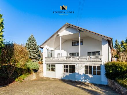Charmante Wohlfühloase in bevorzugter Wohnlage von Rosenberg mit bebauungsfähigem zweitem Grundstück