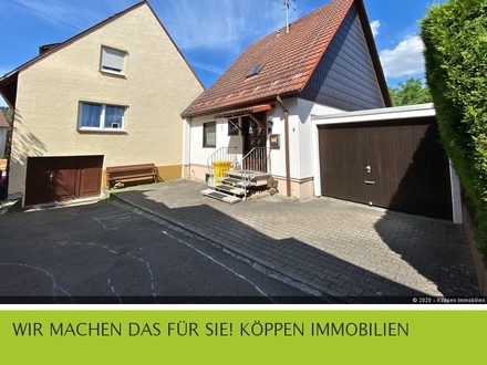 Nettes gepflegtes 1-Fam.-Haus, 4,5 Zi, ca. 110 qm in Winnenden-Birkmannsweiler