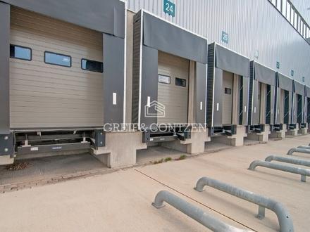 Moderne Neubauhalle in verkehrsgünstiger Lage