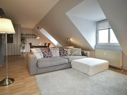 moderne, hübsche, voll möblierte Wohnung in Stuttgart West