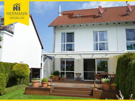 Top-gepflegte Doppelhaushälfte in ruhiger Lage in Niederrodenbach
