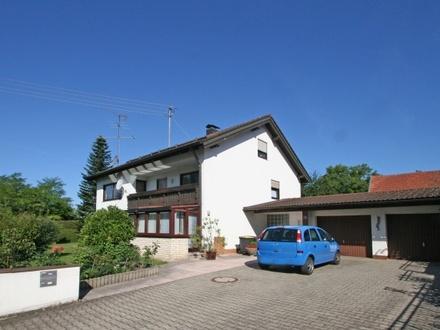 Genießen Sie Ihre helle und großzügige 3-Zi-Wohnung mit Süd-Balkon im 3-Parteien-Haus in Kaufering!