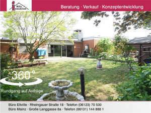 Großzügiger Bungalow mit Wellnessbereich in Mainz-Mombach