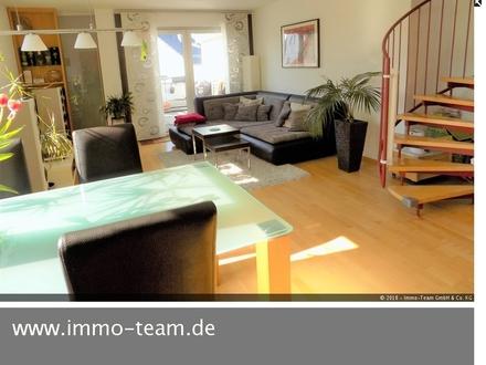 Moderne Maisonette-Wohnung mit Flair!