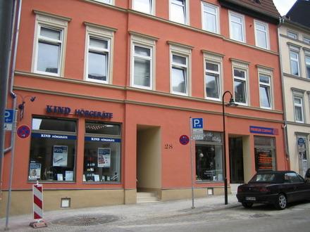 Mit freigelegten Balken! 1,5 Zimmerwohnung in der Innenstadt von Helmstedt