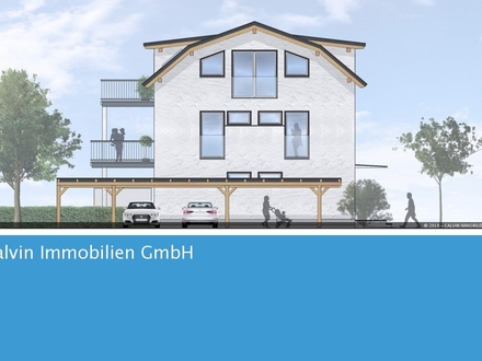 3-Zi-Terrassenbalkonwohnung, Neubau, an der Glan!