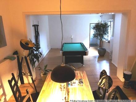 TOP Wohnung mit 50qm Dachterrasse und 50qm Atellier