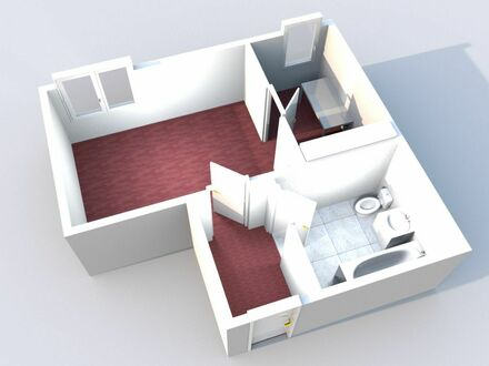 Gut aufgeteilte 1-Zimmer Etagenwohnung in ruhiger und zentraler Lage - Bamberg - Gönnerstraße