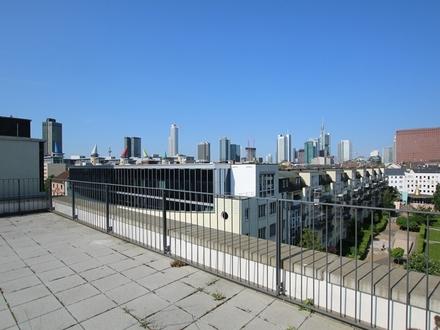 Einzigartiges 4-Zimmer-Penthouse mit Skylineblick und 3 großzügigen Terrassen am Westhafen