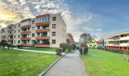 Klagenfurt - Waidmannsdorf - Mozartstraße: 2-ZI-WO im 2.OG (Lift) mit Ostloggia