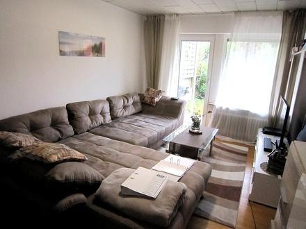 Gepflegte, ruhig gelegene 3-Zimmer-Wohnung mit Terrasse und kleinen Garten
