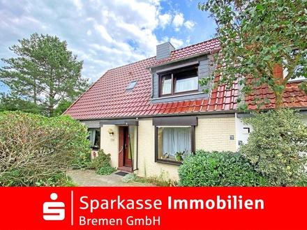 Doppelhaushälfte mit großem Garten in rückwärtiger Lage von Bremen-Grolland
