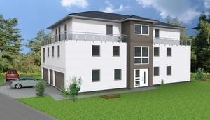 W1 - EG-Neubau-Eigentumswohnung 103 m² mit kleinem Garten [KfW55]]