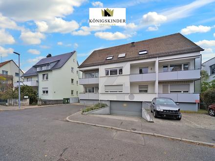 Zentral gelegen: Gemütliche 3-Zimmerwohnung im schönen S-Weilimdorf mit EBK und Garagenstellplatz