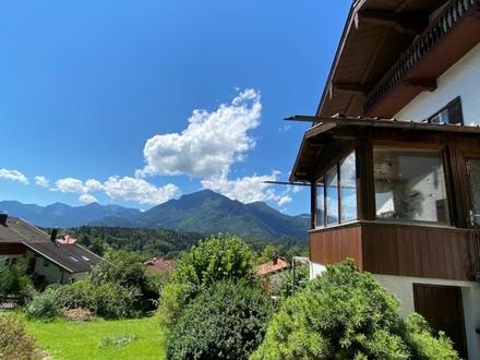* Alpenpanorama im Überblick * Altes Wohnhaus bzw. Baugrund im Erbbaurecht (Bieterverfahren)