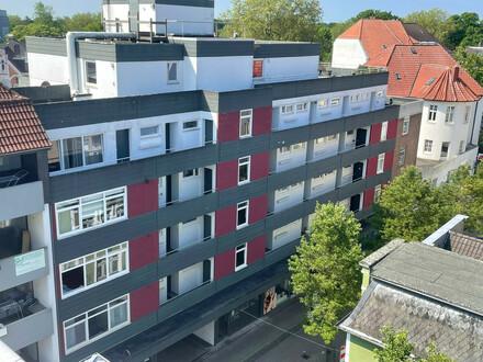 Gemütliche 1-Zimmer-Wohnung mit Einbauküche in zentraler Innenstadtlage