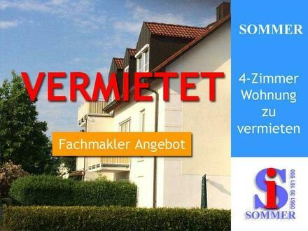 VERMIETET || 4 Zimmer Maisonette Wohnung