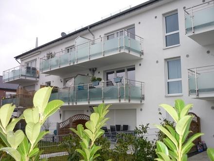 Sofort beziehbar! 61 m²-Neubau-Wohnung mit Aufzug, großem Balkon + Garage, MS-Roxel-Mitte