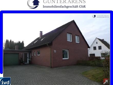 3 Zimmer-Oberwhg. m. Balkon u. Garage an bevorzugter Wohnlage in Westerstede