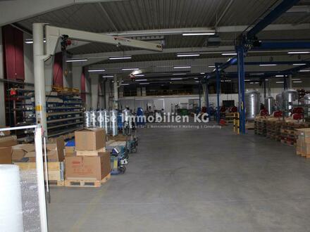 ROSE IMMOBILIEN KG: Teilflächen! ab 1.000m²- Montage-Produktion mit Kränen.