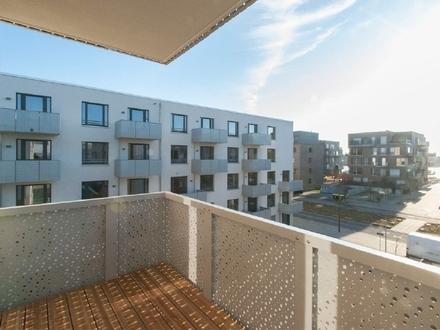 Neubau/Erstbezug: Großzügige 3-Zimmer-Wohnung mit 1 Balkon