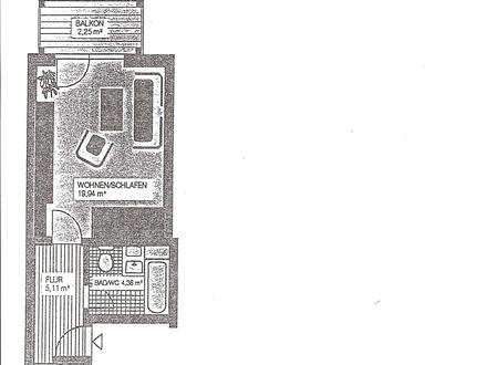 neu renovierte 1-Zimmer Wohnung, Kastanienstraße 10, 08485 Lengenfeld, Vogtland